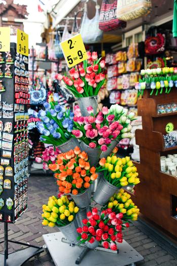 Tulip Souvenirs in Amsterdam