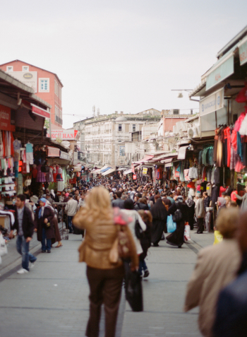 Walking the Streets of the Istanbul Grand Bazaar