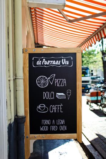 da Portare Via Pizza in Amsterdam