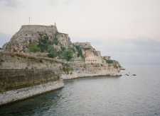 The Cliffs of Corfu Greece