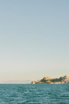 Corfu Greece on the Water