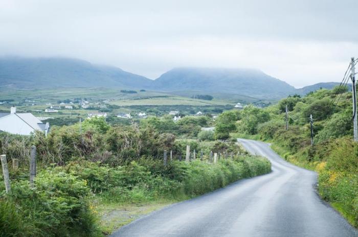 Countryside of Connemara Ireland