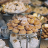 Donuts and Bakery Goods in Barcelona Spain