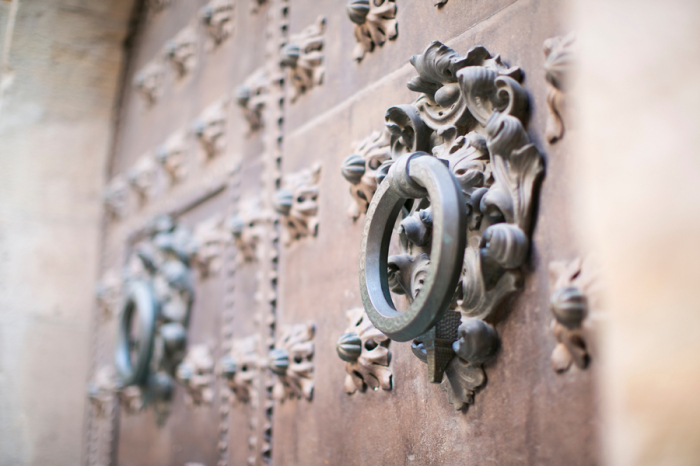 Doorknob in Barcelona