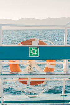 Ferry from Albania to Corfu Greece