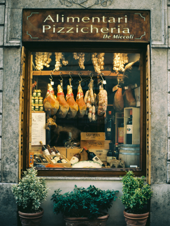 Local Grocer in Tuscany