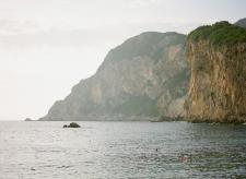 Oceanside Cliffs of Corfu Greece