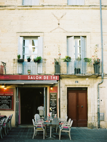Outdoor Dining in Uzes France