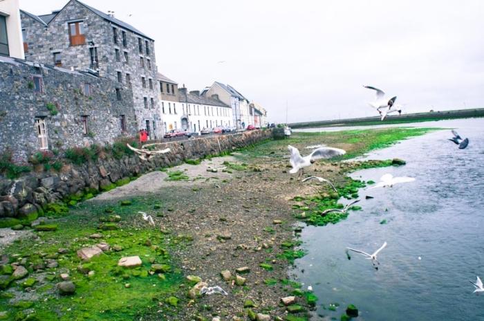 Seaside Village in Connemara Ireland
