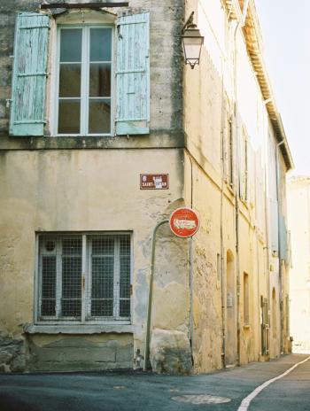 Street Corner in Uzes France