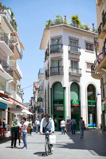 Streets of Sitges Spain