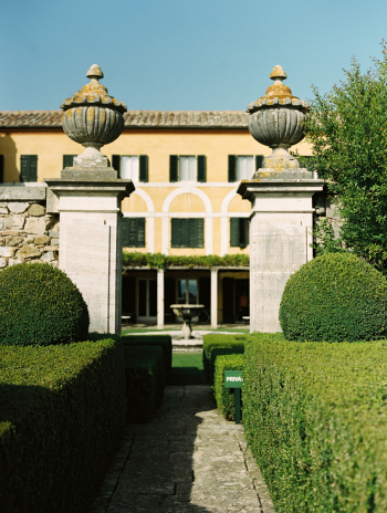 The Villa at La Foce in Tuscany