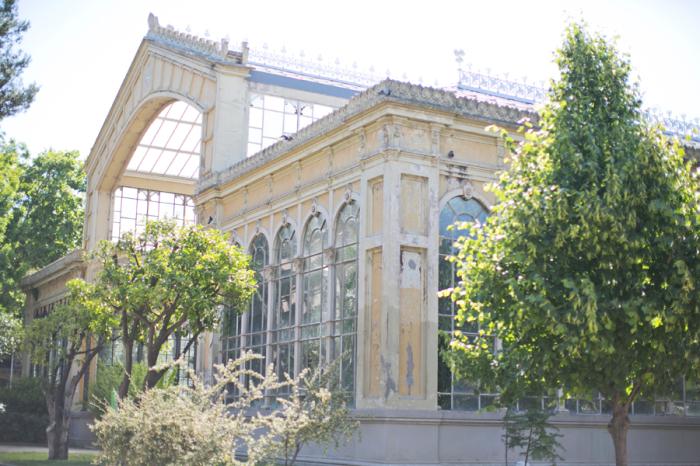 Umbracle Greenhouse at Parc de la Ciutadella in Barcelona Spain