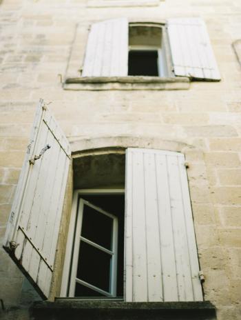 Window Shutters in Uzes France