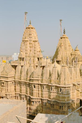 Ancient Architecture in Jaisalmer India