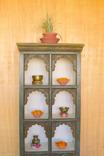 Art Case at Suryagarh Palace in India