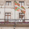 Basque Flag in Guernica Spain