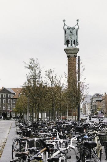 Bicycles in Copenhagen Denmark