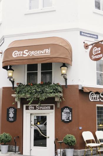 Cafe Sorgenfri in Copenhagen Denmark