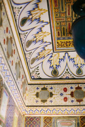 Ceiling Details in Jaisalmer India