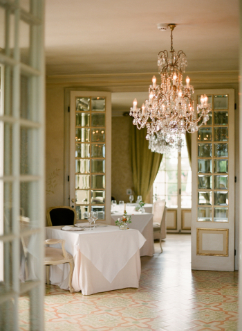 Classic Dining Room at the Borgo Santo Pietro
