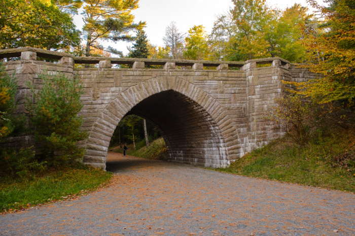 Fall Colors on a Carriage Road Bridge