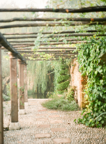 Garden Path at the Borgo Santo Pietro