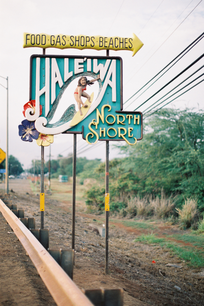 Chime Sign In >> Haleiwa Road Sign on the North Shore of Hawaii - Entouriste