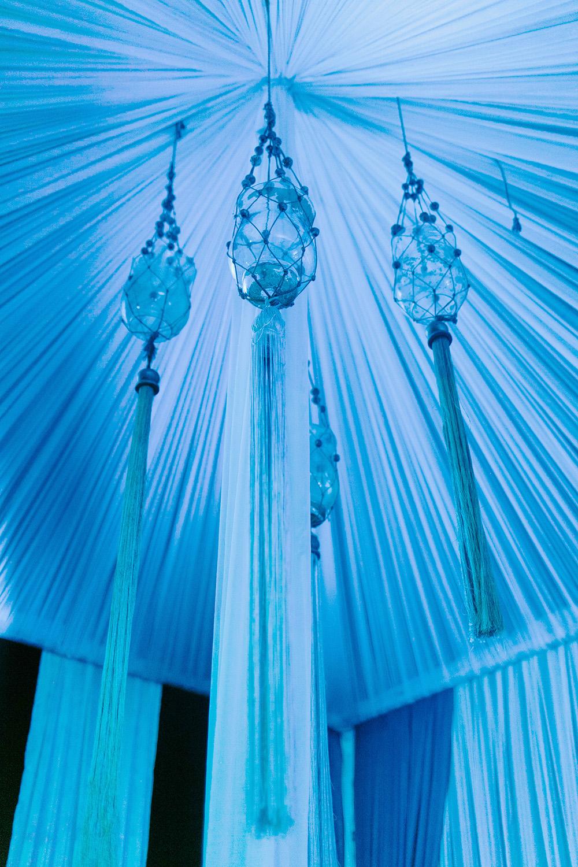 Hanging Glass Decor At Suryagarh Palace In India Entouriste