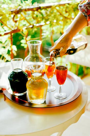 Happy Hour at Chateau Ventenac