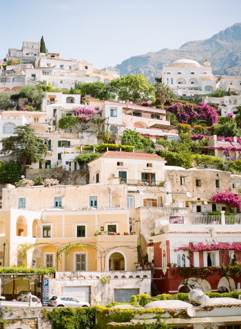 Hillside Homes in Positano Italy