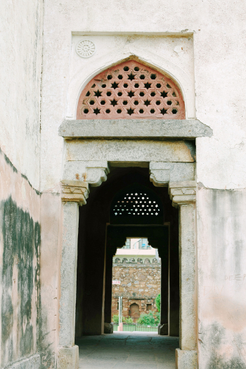 Islamic Ruins in Hauz Khas Village New Dehli