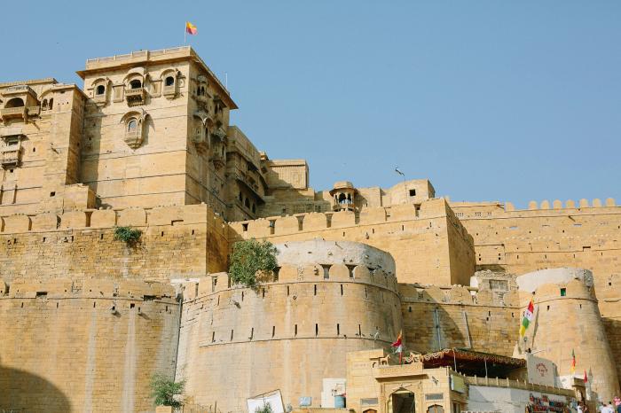 Jaisalmer Fort in India