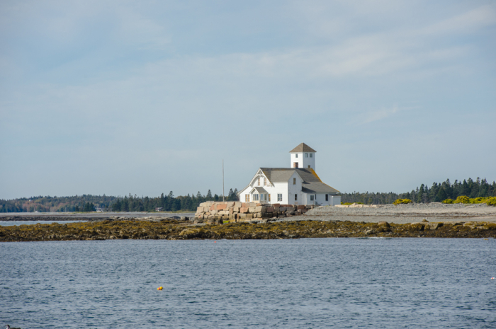 Lifesaving Station in Acadia National Park