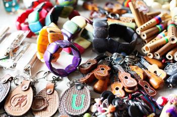 Market Souvenirs in Mindo Ecuador