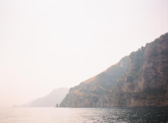 Oceanside Cliffs of Positano Italy
