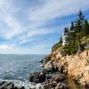 Rocky Cliffs in Bass Head Maine