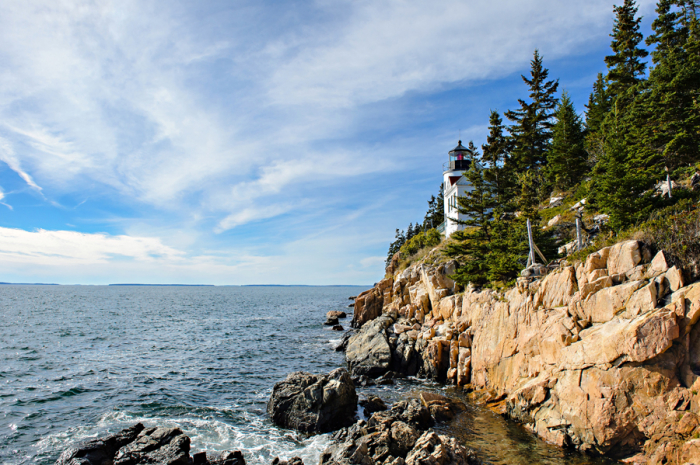 Rocky Cliffs in Bass Head Maine