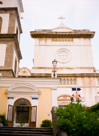 Stone Church in Positano Italy