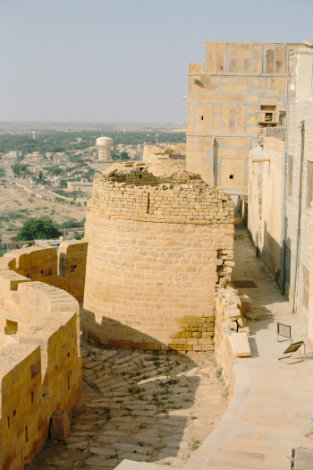 Stone Path in Jaisalmer India