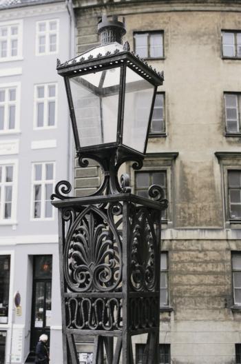 Street Lamp in Copenhagen Denmark