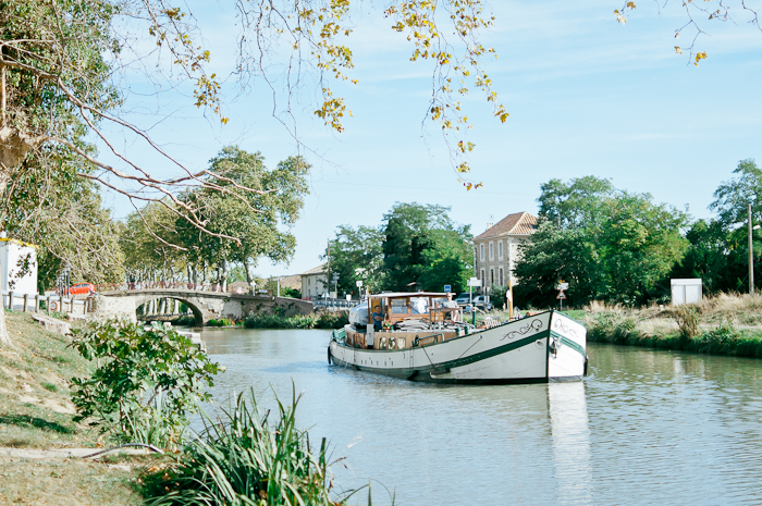 Water Taxi on the Canal du Midi