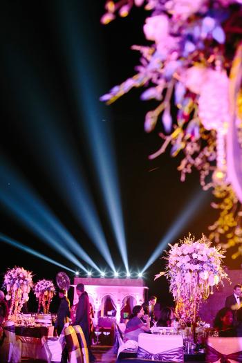 Wedding Lighting at Suryagarh Palace in India