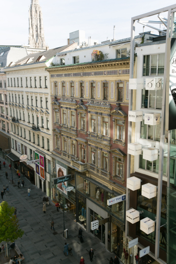 Apartment Buildings of Vienna Austria