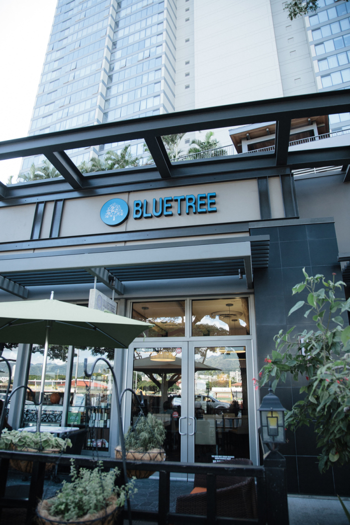 Cafe Blue Menu Honolulu