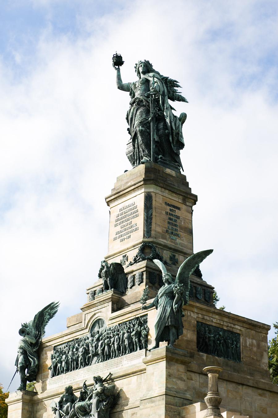 Germania Statue of Rudesheim Germany - Entouriste