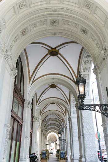 Intricate Corridor in Vienna Austria