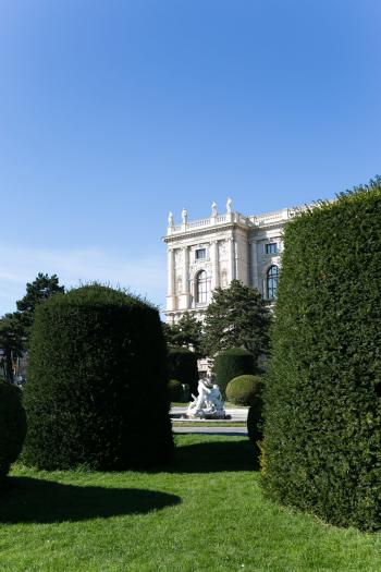 Landscaped Gardens in Vienna Austria