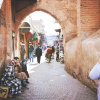 Stone Streets and Stone Walls in the Marrakech Medina