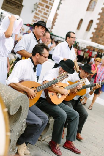 Street Band in Lanzarote Spain
